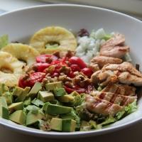 سلطة الدجاج بالليمون - Lime Chicken Chopped Salad