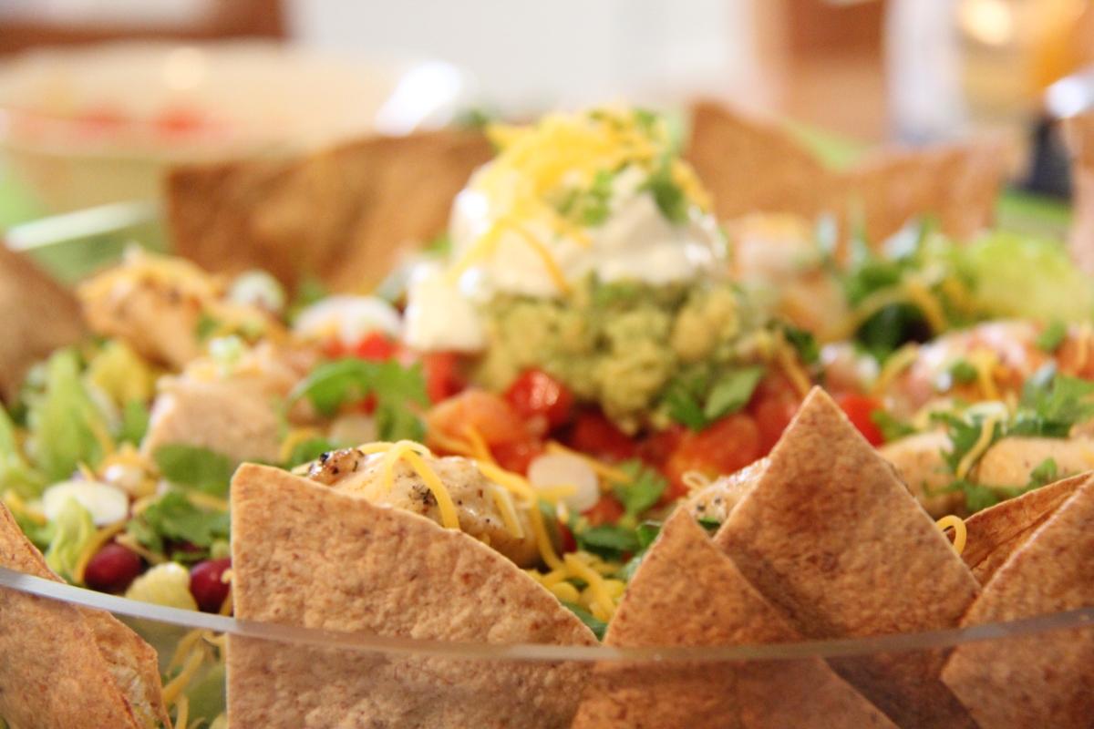سلطة التاكو - Taco Salad