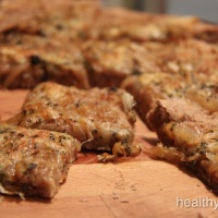 خبز البصل المقرمش -Carmelized Onion Bread