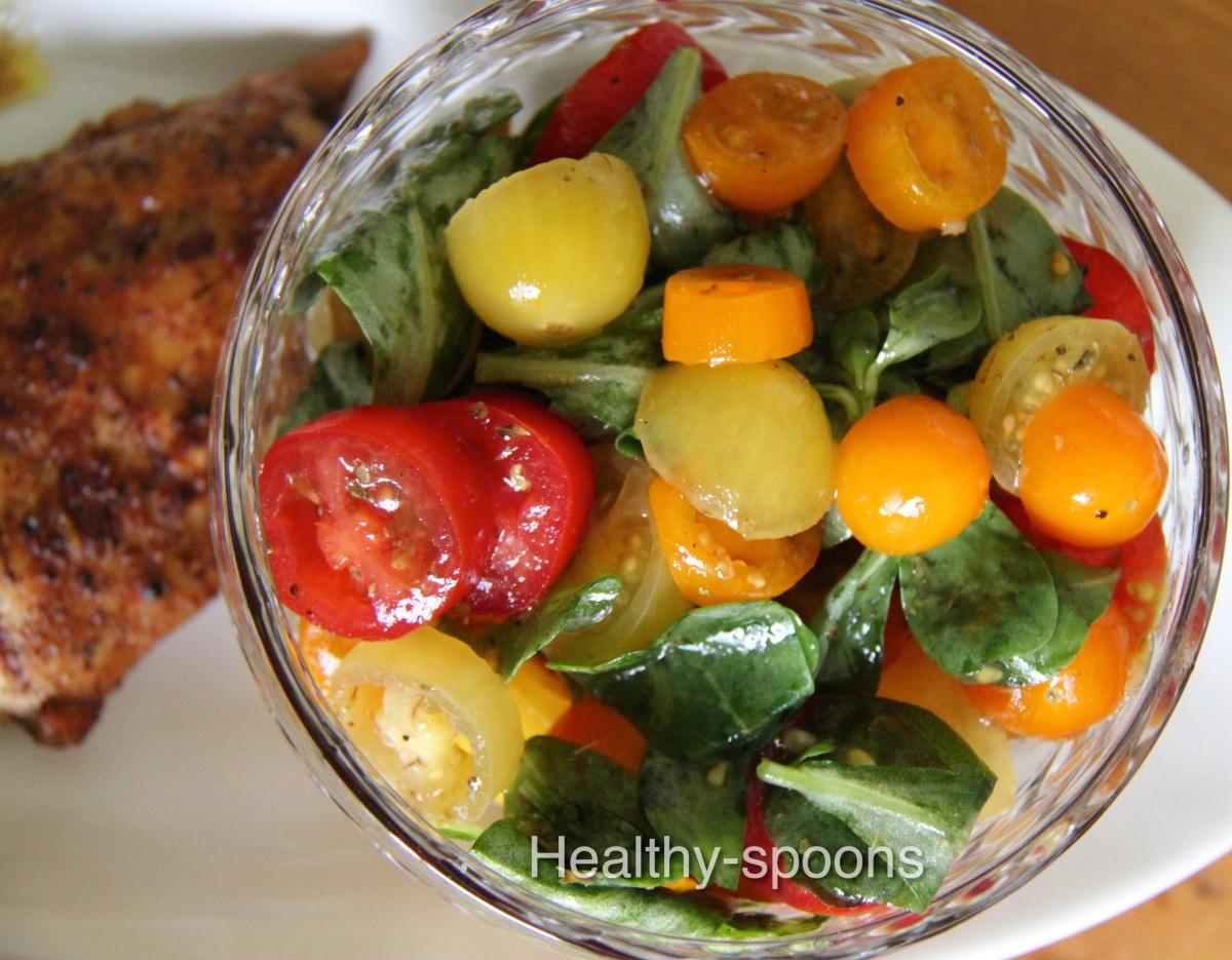 Tomato Salad- سلطة الطماطم