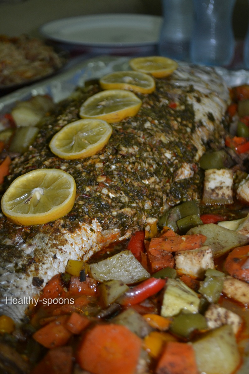 Grilled Fish- سمكة مشوية
