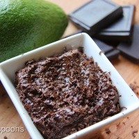 Chocolate Avocado Pudding- vegan                  بودينغ الشوكلاتة والأفوكادو