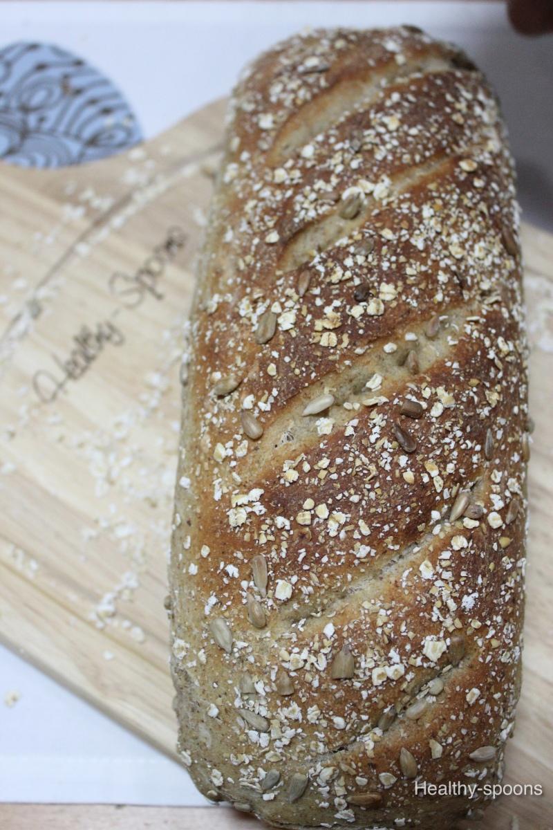 whole Grain Seeded Bread- خبز الحبوب الكاملة