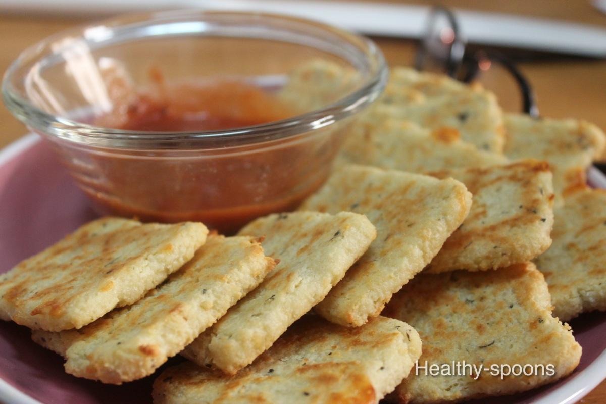 Fathead Crackers- سناك الجبن الصحي