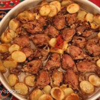 صينية الدجاج و البطاطس - Drumsticks with Potatos